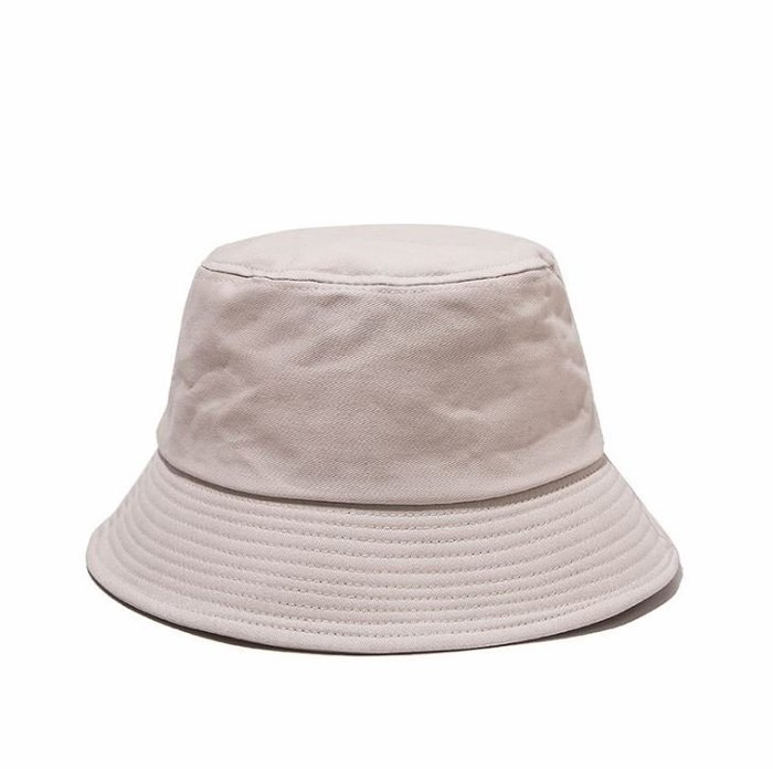 漁夫帽 原宿漁夫帽 男女帽子 男女漁夫帽 日系純色平頂時尚遮陽帽 587