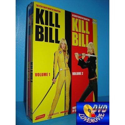 A區Blu-ray藍光台灣正版【追殺比爾1+2完整追殺版Kill Bill】[含中文字幕] DTS-HD版全新未拆