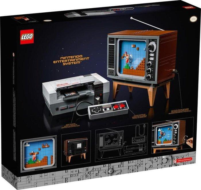 現貨 樂高 LEGO 71374 任天堂娛樂系統 2646pcs + 71360 樂高瑪利歐冒險主機+30385 蘑菇組