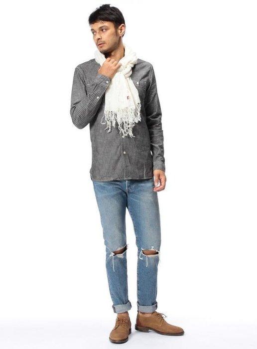 【Shopa】現貨 特價 Levis 501 CT 水洗 破壞 刀割 上寬下窄 牛仔褲 余文樂 18173-0031