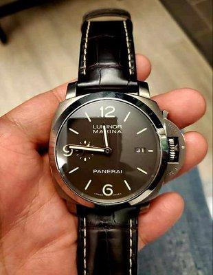 【已交流】沛納海 Pam351 Panerai pam00351 鈦合金 咖啡面 金針 Pam 351 非 1312 1351 1359