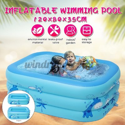 Inflatable swimming pool Environmentally friendly 6p君君の店ZH0