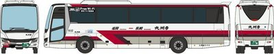 [玩具共和國] TOMYTEC 315261 九州急行バス 「九州号」