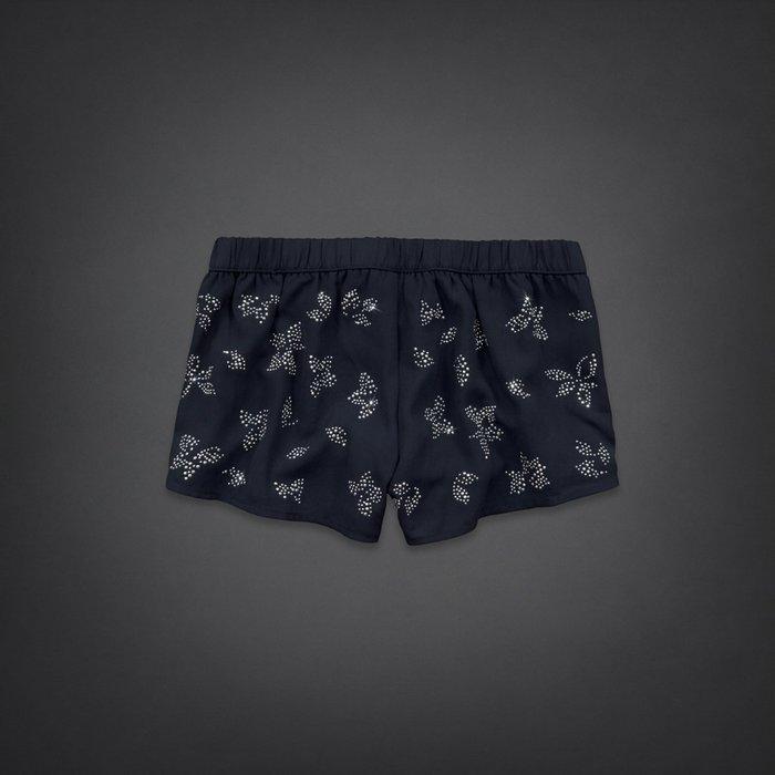 【天普小棧】HOLLISTER HCO Chiffon Short-Shorts水鑽鑲飾閃亮雪紡紗短褲 XS/S/M號