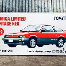 Tomica Limited Vintage Tomytec LV-N22b Honda Ballade Sport CR-X Si