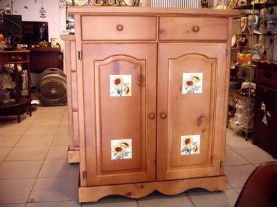 內崁瓷磚鞋櫃 原木鞋櫃/全實木/三尺鞋櫃/可訂製白色