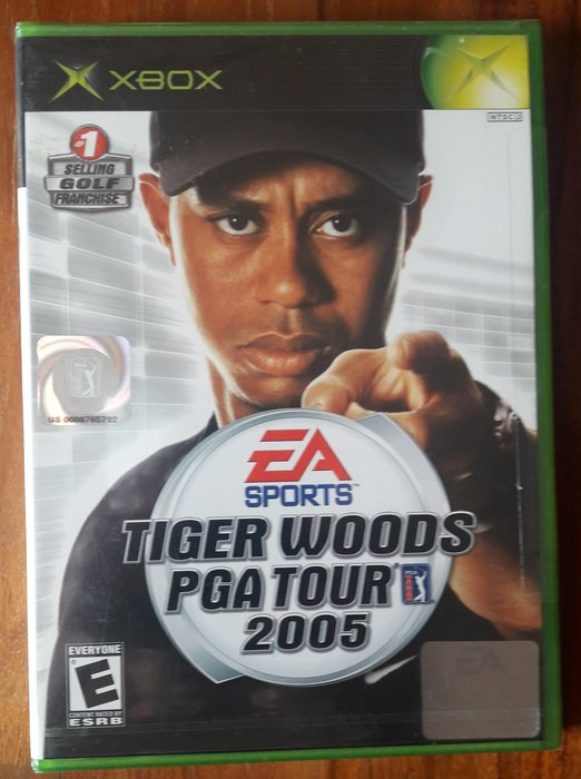 全新未拆 XBOX《Tiger Woods PGA Tour 2005》(老虎伍茲 2005)