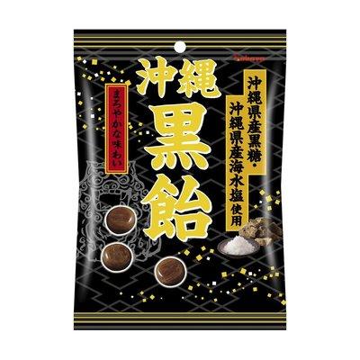 +東瀛go+ Kabaya 卡巴 沖繩黑糖飴 103g 鹽黑糖 沖繩黑糖 沖繩海鹽 日本糖果 日本原裝進口