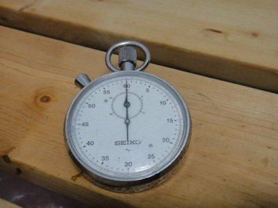 3999低價起標!!日本SEIKO精工大型古董計時機械碼錶