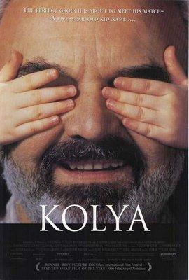 遊子-Kolya (1996)原版電影海報