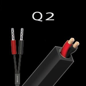 來電優惠!【音逸音響】超值!原裝.喇叭線》美國 audioquest Q2 香蕉插頭 (3米/對)