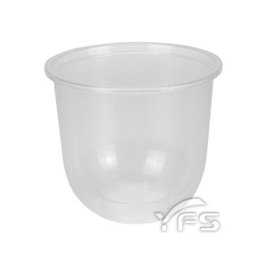 Q-360飲料杯-PP(95口徑)(360ml) (慕斯杯/免洗杯/封口杯/冰沙/茶飲/果汁)