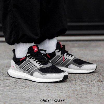 【你穿幾號】Adidas Ultra Boost S&L 黑紅 灰紅 男鞋 慢跑鞋 EF0720