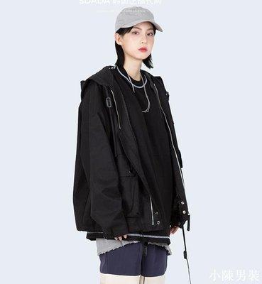 韓國代購19ss BIG POCKET HOOD JUMPER 小眾連帽夾克外套 低價 批發