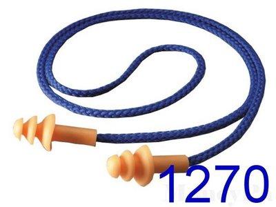 **花媽市集**3M個人防護系列 1270帶線式可重複使用耳塞(3M 1270耳塞 樹型耳塞 另有 1100 1110 1271)