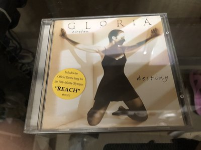 二手 GLORIA ESTEFAN CD DESTING 有側紙