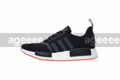 ADIDAS ORIGINALS NMD R1 黑紅 透氣 呼吸 CQ2413