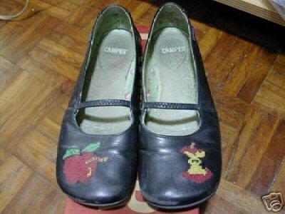 絕版真品Camper的TWINS系列蘋果鞋37號