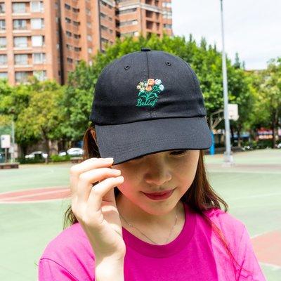 【A-KAY0】BELIEF 男女 BOUQUET CAP 老帽 黑【BLF19SSBOBK】