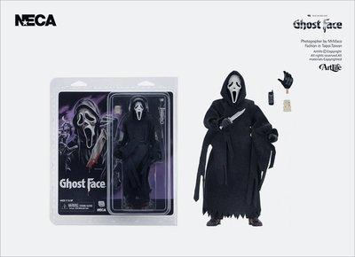 ArtLife @ NECA Scream Ghost Face Clothed Figure 驚聲尖叫 鬼臉