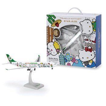 長榮航空 A330-300 Hello Kitty 1:200 飛機模型典藏版 -環球機