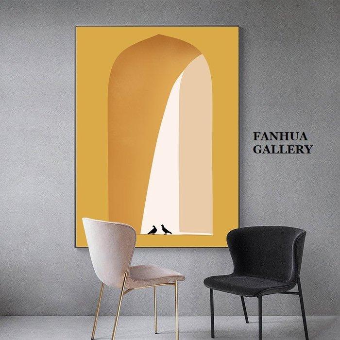 C - R - A - Z - Y - T - O - W - N 文藝簡約幾何抽象走廊掛畫巨幅玄關裝飾畫商空設計師掛畫