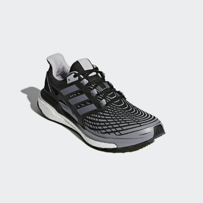 ADIDAS ENERGY BOOST SHOES 黑灰 馬牌底 運動 訓練 慢跑鞋 男鞋 CP9541 YTS