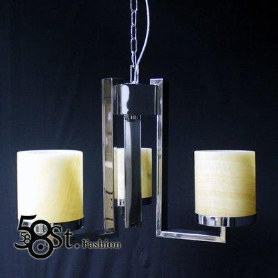 【58街-高雄館】「Sir Lancelot's pendant lamp 圓桌武士雲石版3燈款」複刻版。GH-351