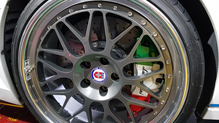 Lamborghini 保證正品 HRE 20吋鍛造鋁圈 LP610 LP580 現貨