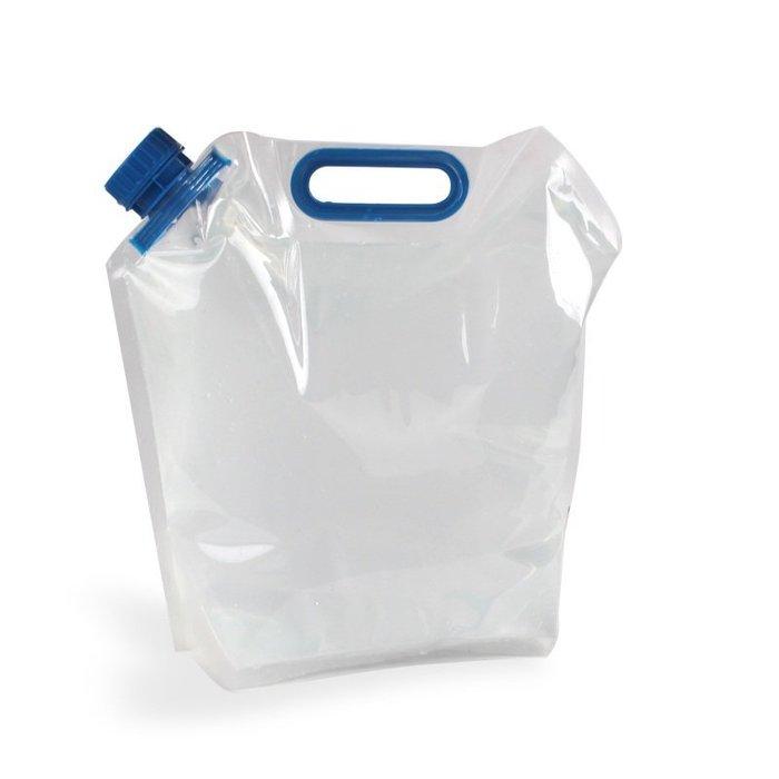 戶外露營手提水袋車載折疊水桶PE食品級便攜帶水袋10L 登山取水袋10升360 oz