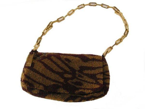 *旺角名店* Gucci 手工滿鑲珠珠 仿古晚宴包 古董包包 側背包 手拿包  [09080103]