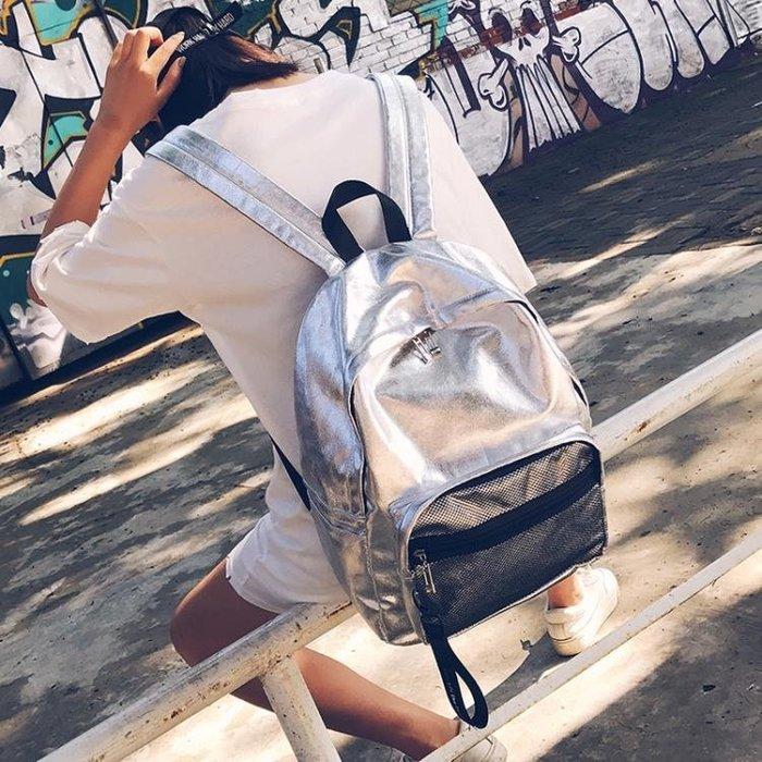 書包女正韓ulzzang 高中學生校園潮背包簡約個性大容量雙肩包