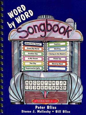 英文童謠 Word by Word Songbook  Vol. 1   歌詞+樂譜