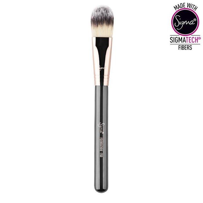 Sigma F60- FOUNDATION COPPER(玫瑰金)【愛來客】美國官方授權經銷商 粉底刷 化妝刷 現貨