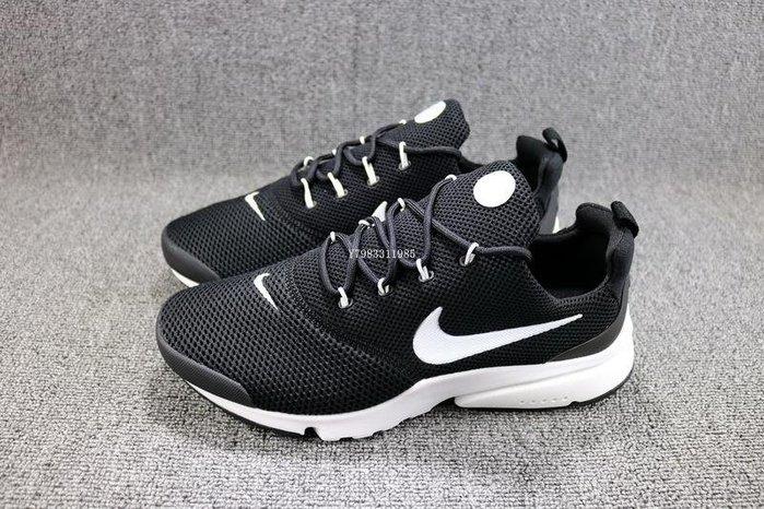 Nike Presto Fly 黑白 百搭 網面透氣 休閒慢跑鞋 男鞋 908019-002