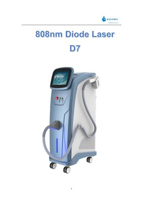 Prpfessional 808nm hair removal diode laser beauty machine 2 orders