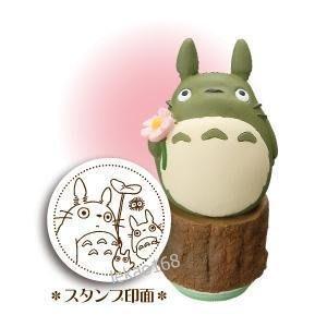 宮崎駿Totoro立體 龍貓早期花花印...