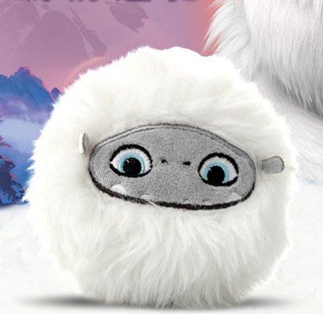 HALO 雪人奇緣ABOMINABLE電影周邊大毛可愛柔軟毛絨鑰匙扣掛件掛飾