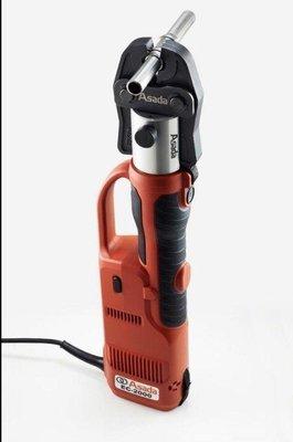 含稅【新宇電動五金行】ASADA 淺田 大全配 EC-2000 電動油壓 壓接機 270度旋轉 全自動回油!(特價)
