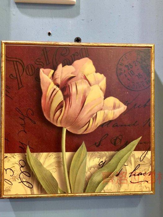 《齊洛瓦鄉村風雜貨》義大利復古金箔版畫 掛畫 居家裝飾
