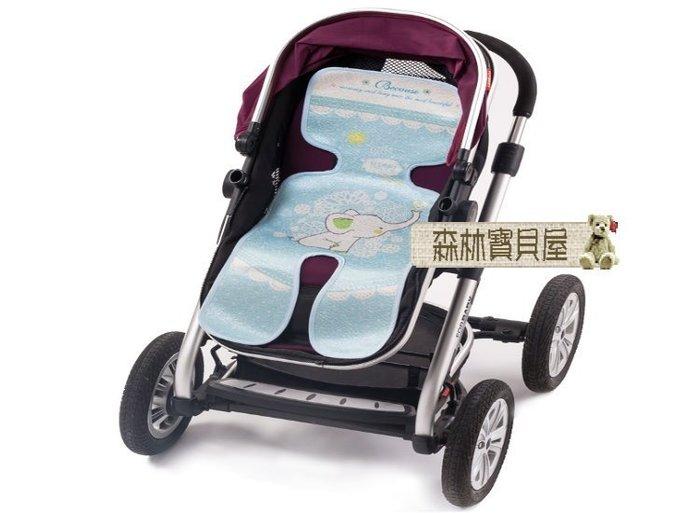 森林寶貝屋~3D嬰兒推車專用涼蓆~寶寶冰絲手推車蓆~童車透氣涼蓆涼墊~安全座椅涼蓆~立體透氣蜂巢設計
