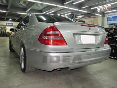 泰山美研社全新BENZ W211 E200K E240 E280 E320 E350 E63 AMG樣式後保桿PP材質另有E55 C63 新北市