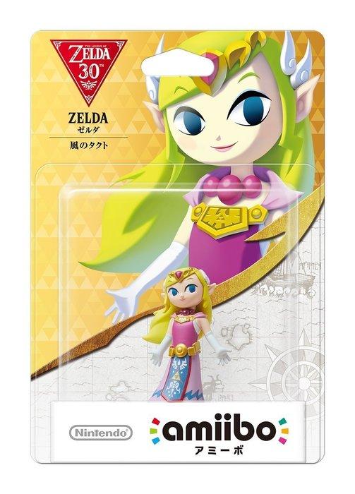 Wii U 薩爾達傳說系列 近距離無線連線 NFC 連動人偶玩具 amiibo 薩爾達公主 風之律動【板橋魔力】