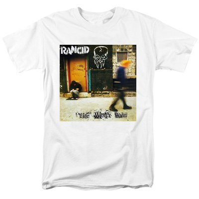 Rancid另類流行朋克惡臭合唱團Life Won't Wait專輯搖滾男短袖t恤