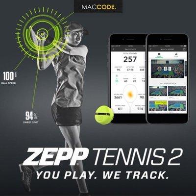 ZEPP Tennis 2 即時教練 網球 智慧分析器 公司貨 現貨 含稅