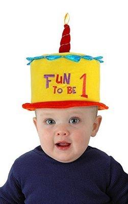 預購 美國帶回 Fun to be 1 Hat 寶寶周歲 一歲生日帽 PARTY 生日派對 派對帽