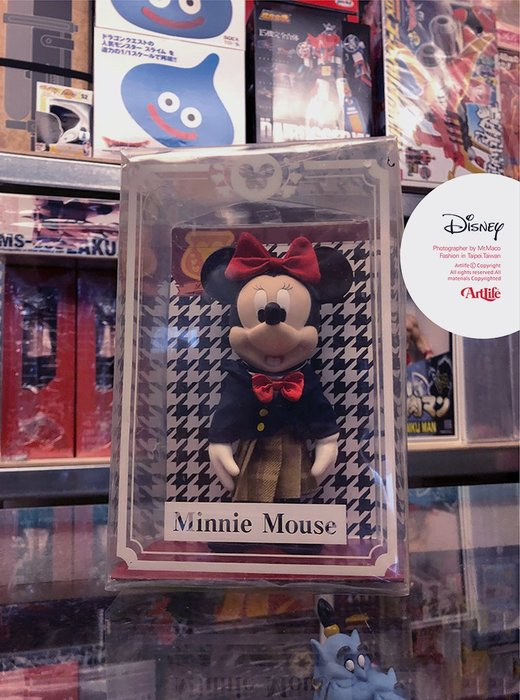ArtLife @ DISNEY Minnie Mouse ディズニー ミニー 学ラン 制服フィギュア 制服 米妮