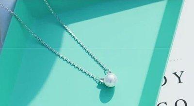 JZ 925純銀可愛貓耳朵森林系珍珠項...