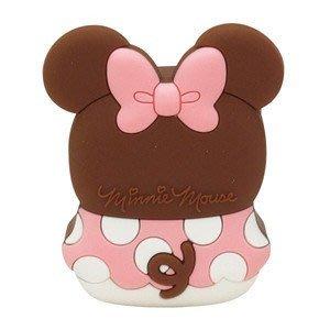 尼德斯Nydus~* 日本正版 迪士尼 粉紅色 米妮 充電器 插座 USB接頭 iPhone6 各手機適用