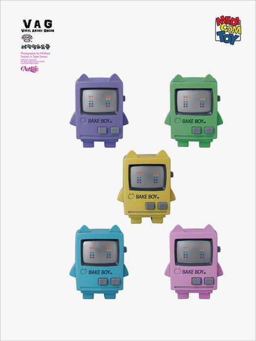 Artlife @ MEDICOM VAG GACHA SERIES 13 バケタン1号 TV 電視 機器人